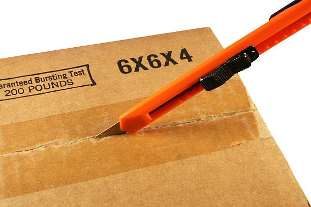 box cutter stock photo