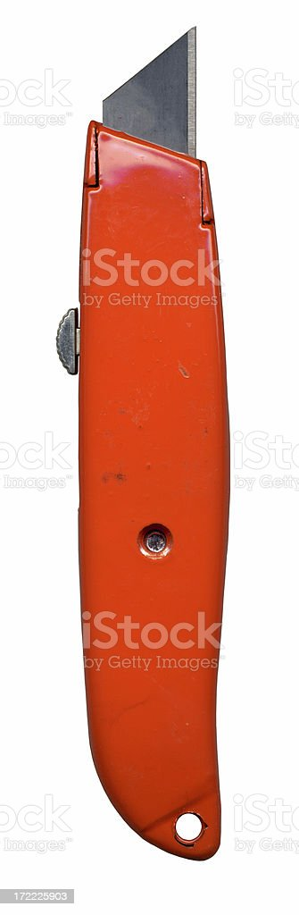 Box Cutter stock photo