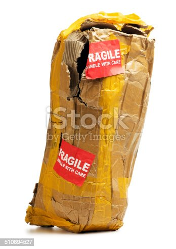 istock Box Damaged in Shipping 510694527