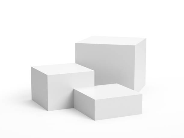 box display - cube shape stock pictures, royalty-free photos & images