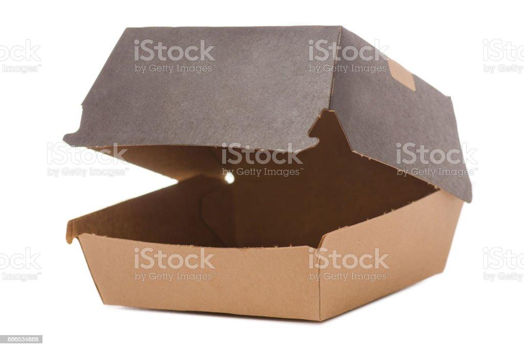 Boîte pour un hamburger - Photo