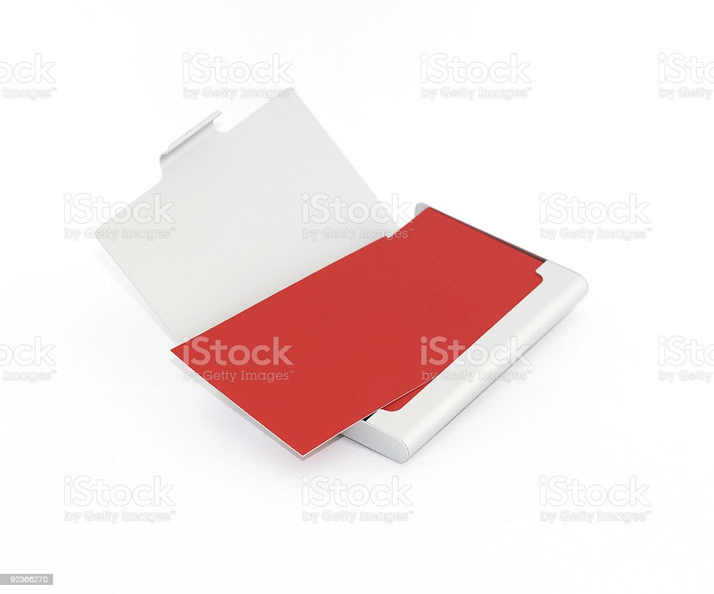 Box for cut-aways royalty-free stock photo
