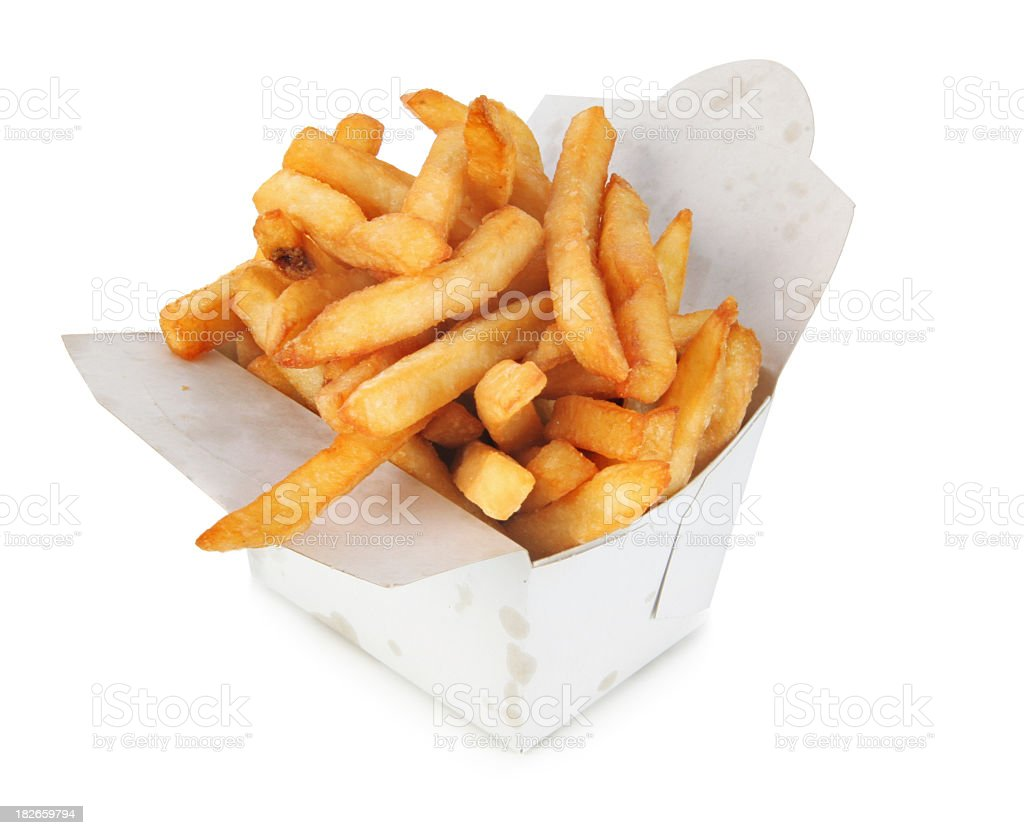 Box of calories royalty-free stock photo