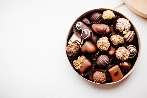 盒巧克力糖。 - 情人節 節日 個照片及圖片檔