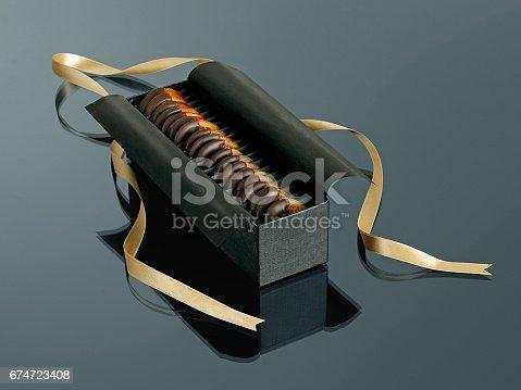 swiss chocolate box as a gift