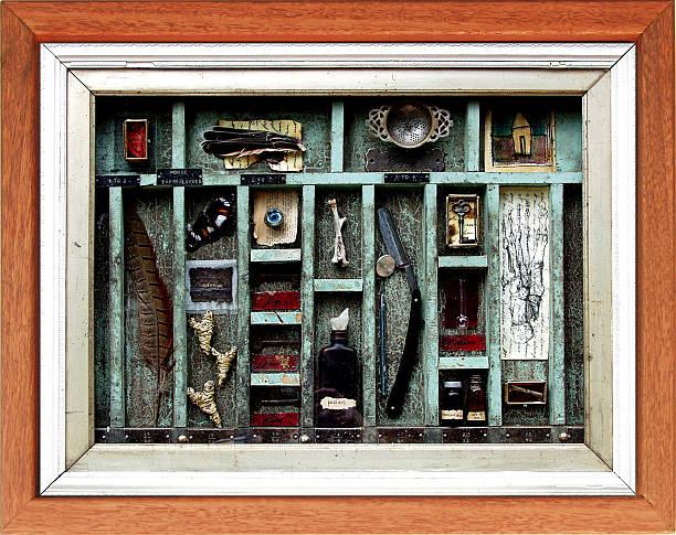 Box of memories stock photo