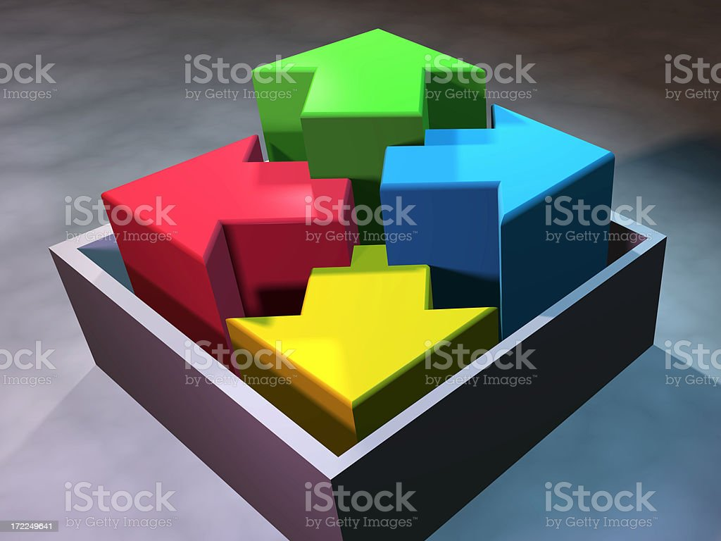 box of options royalty-free stock photo