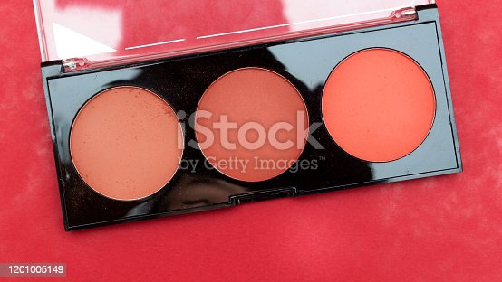 847152928 istock photo box of three color blush isolated on white background 1201005149