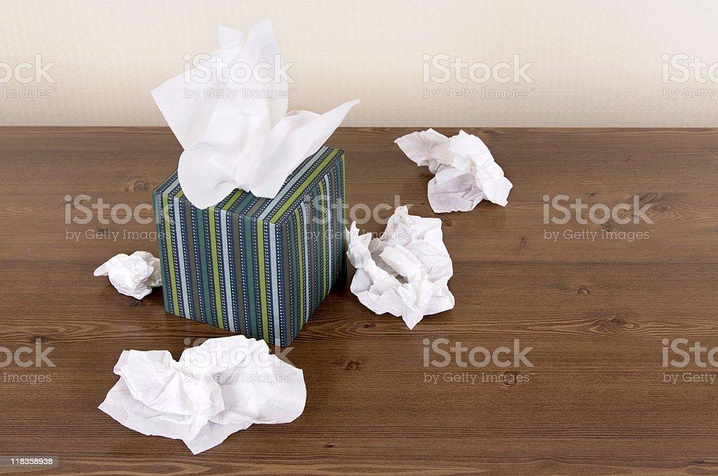 Box of tissues royalty-free stock photo
