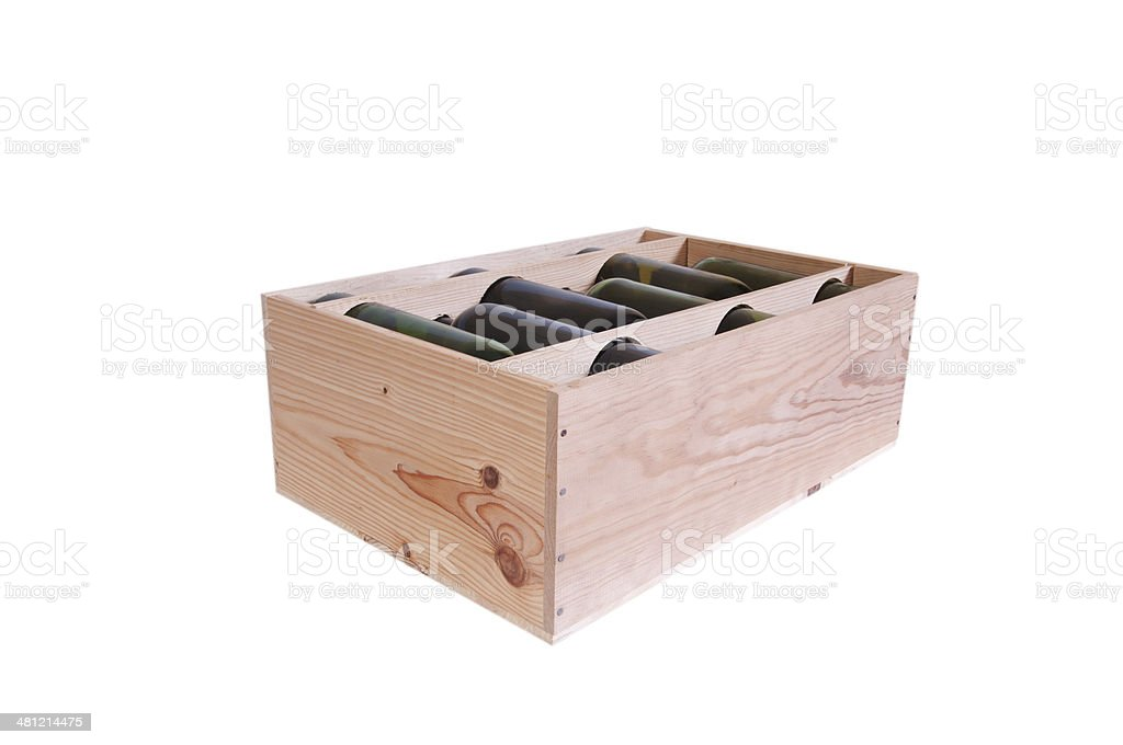 Box of Wine stock photo