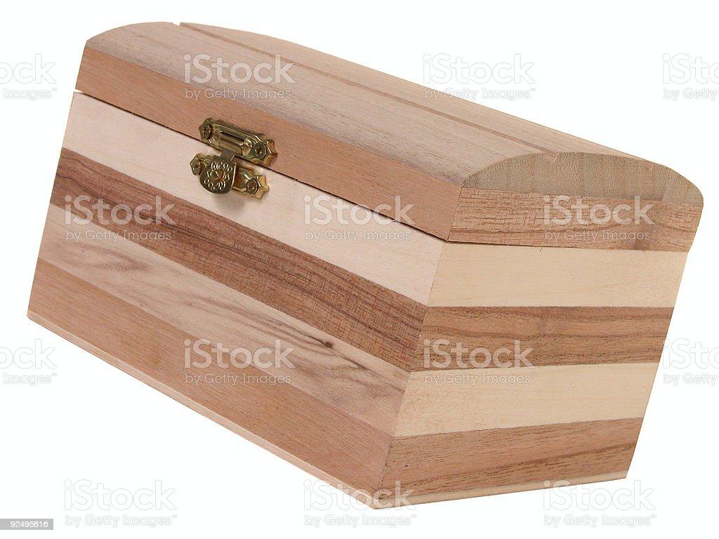 Box on White royalty-free stock photo