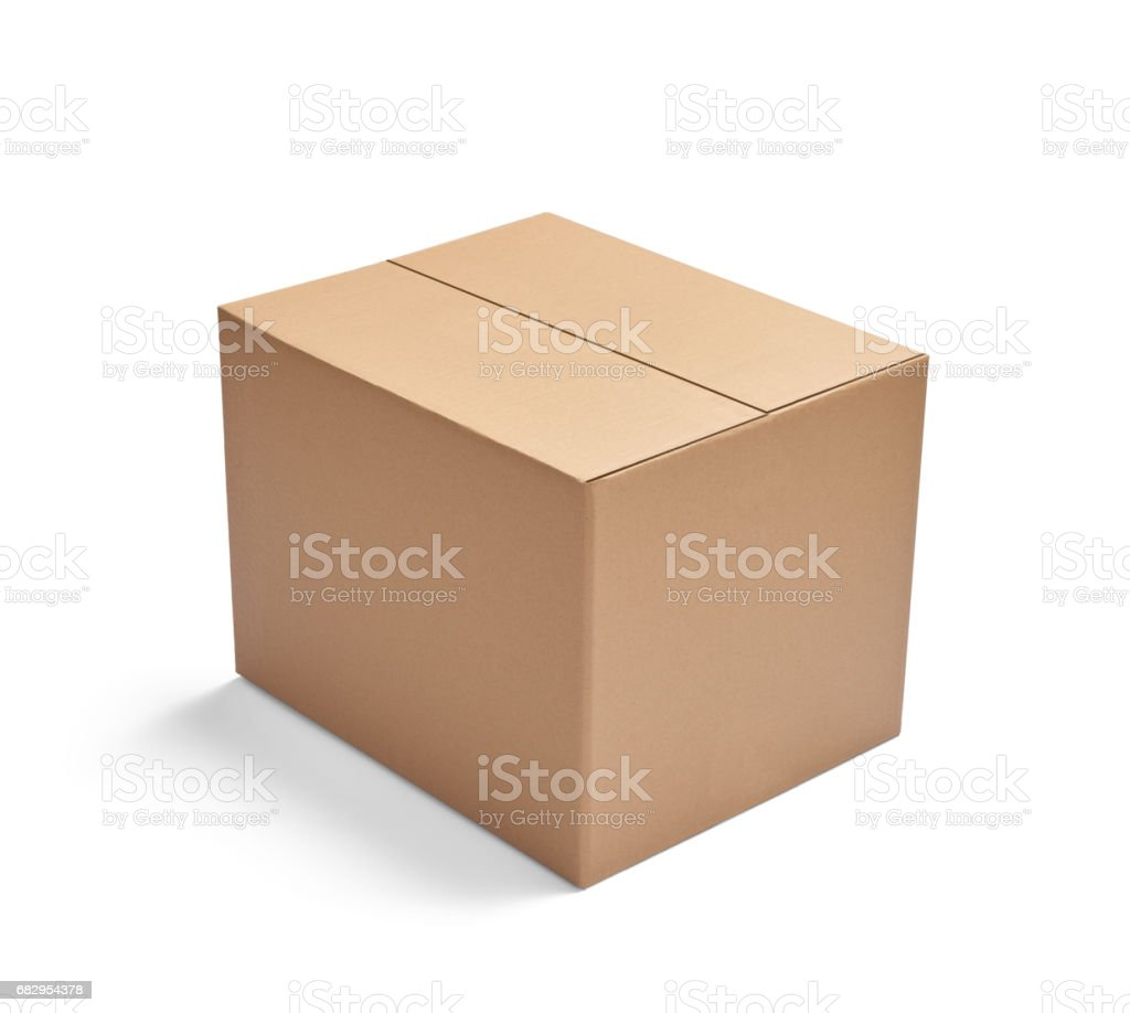 box package delivery cardboard carton stack royalty-free stock photo