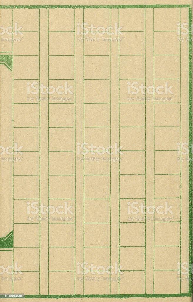 Box Pattern Paper royalty-free stock photo