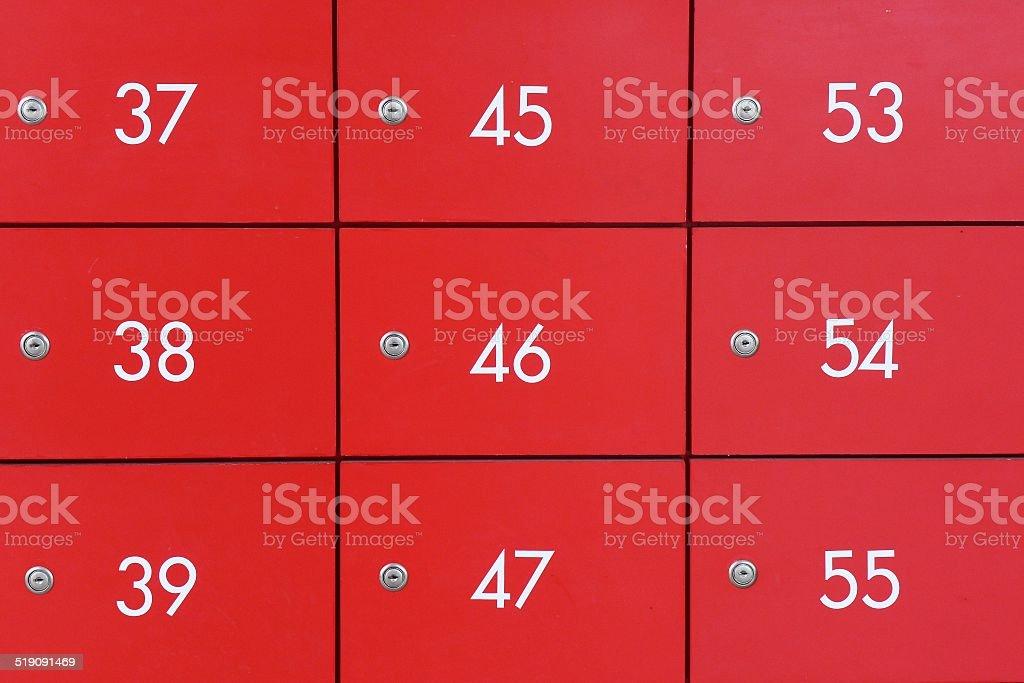 PO box stock photo