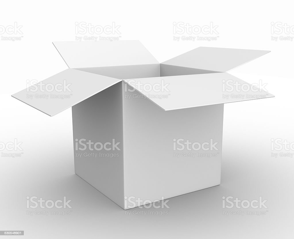 Box stock photo