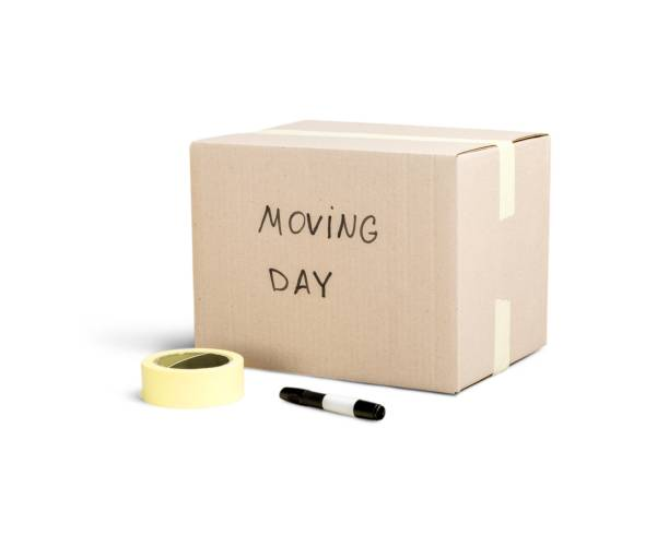 box. - relocation stock photos and pictures