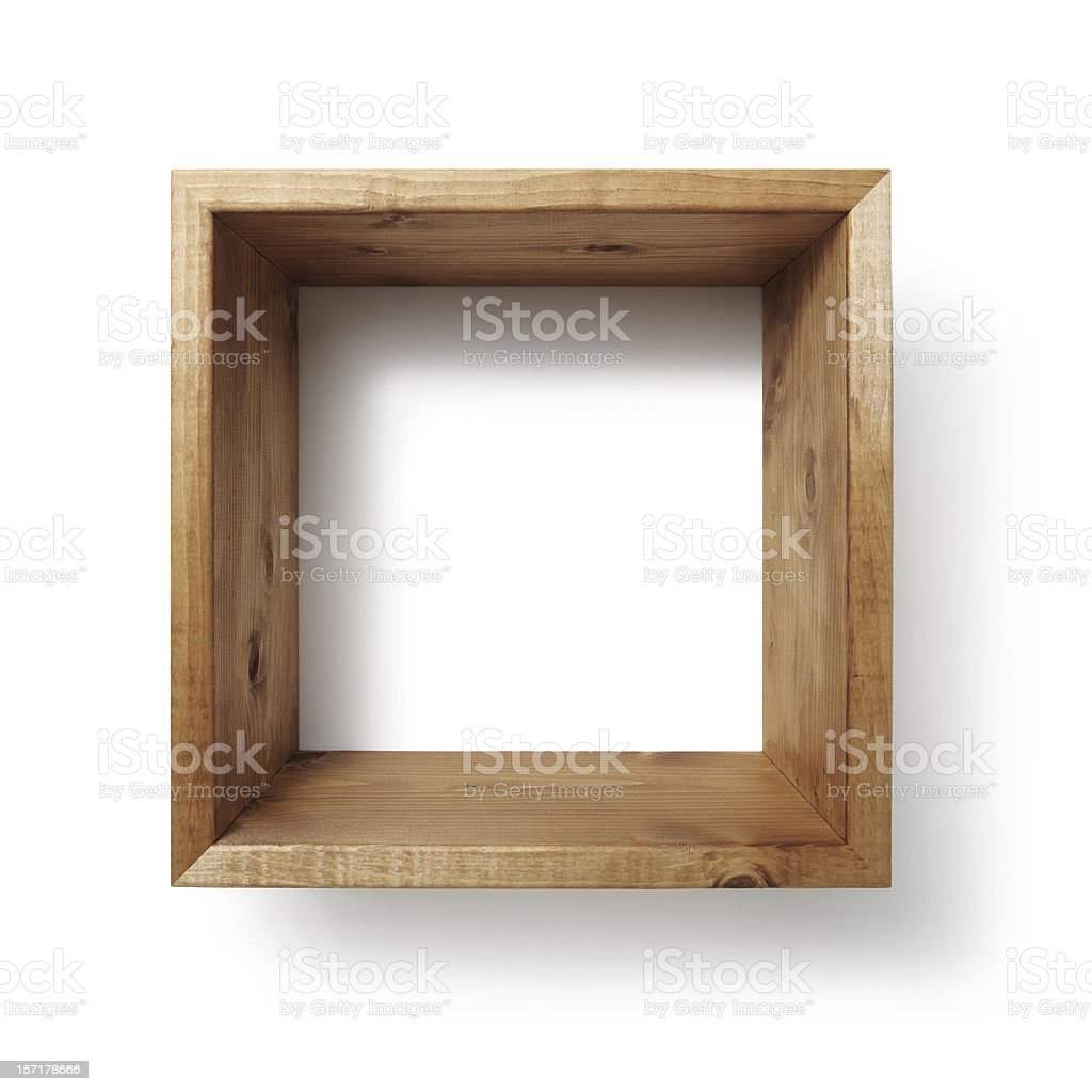 Box shelf stock photo