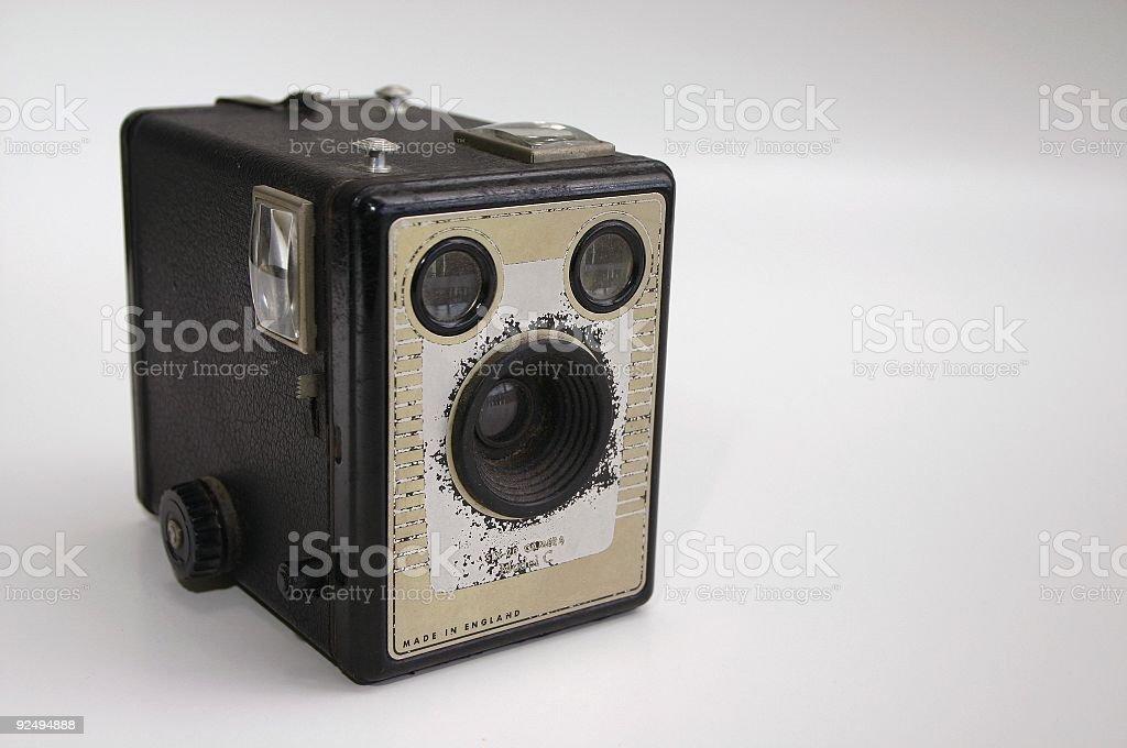 box shooter stock photo