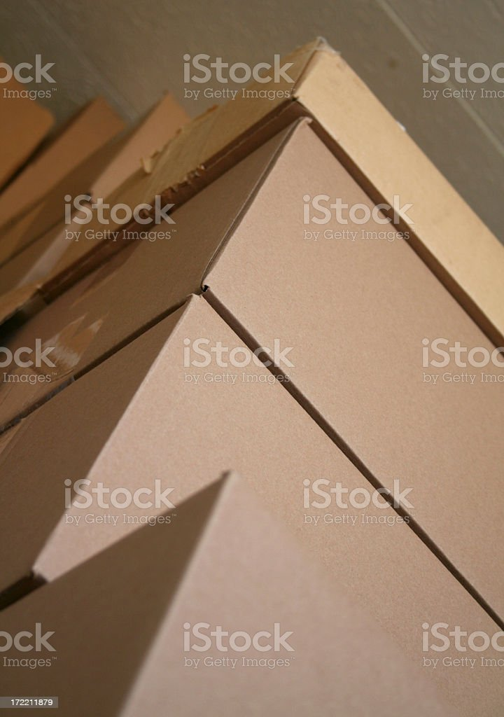 Box Stack royalty-free stock photo