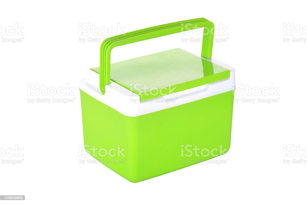 box storage plastic container isolated stock photo