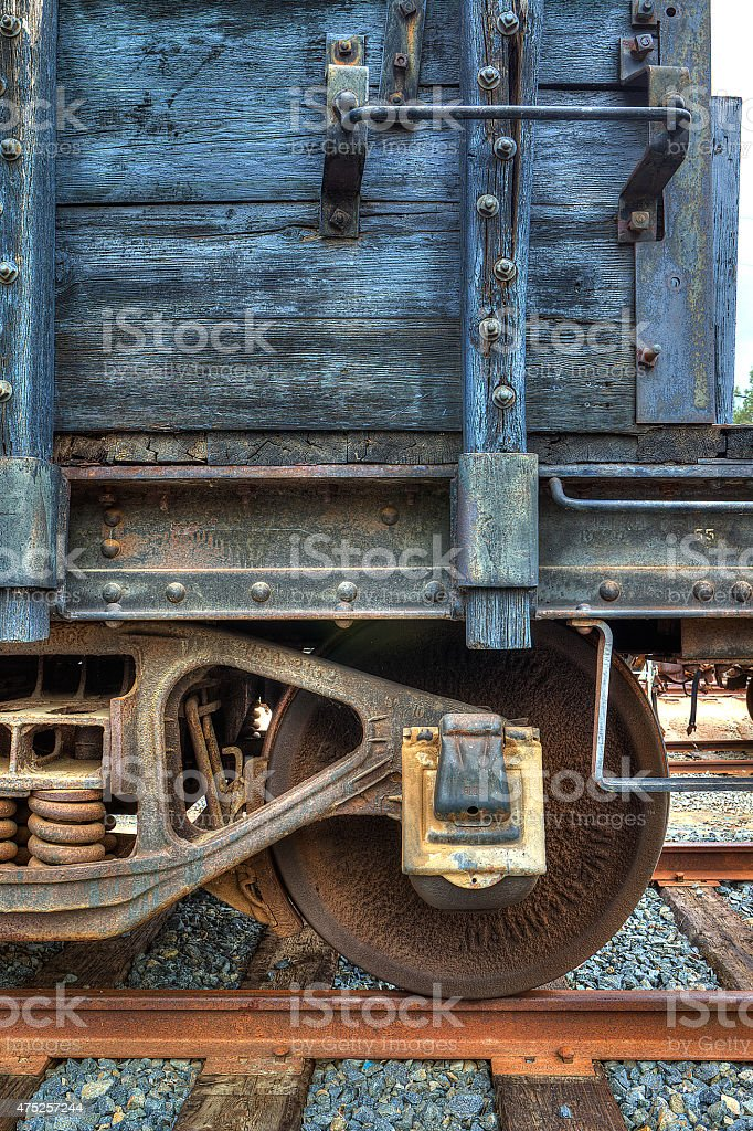 Boxcar Wheels Stock Photo Istock