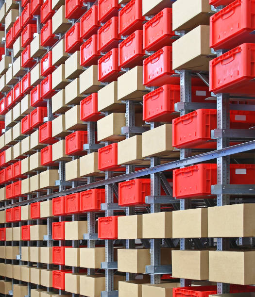 Boxes and Crates - foto stock