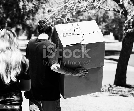 istock Boxes being dilivered 907567738
