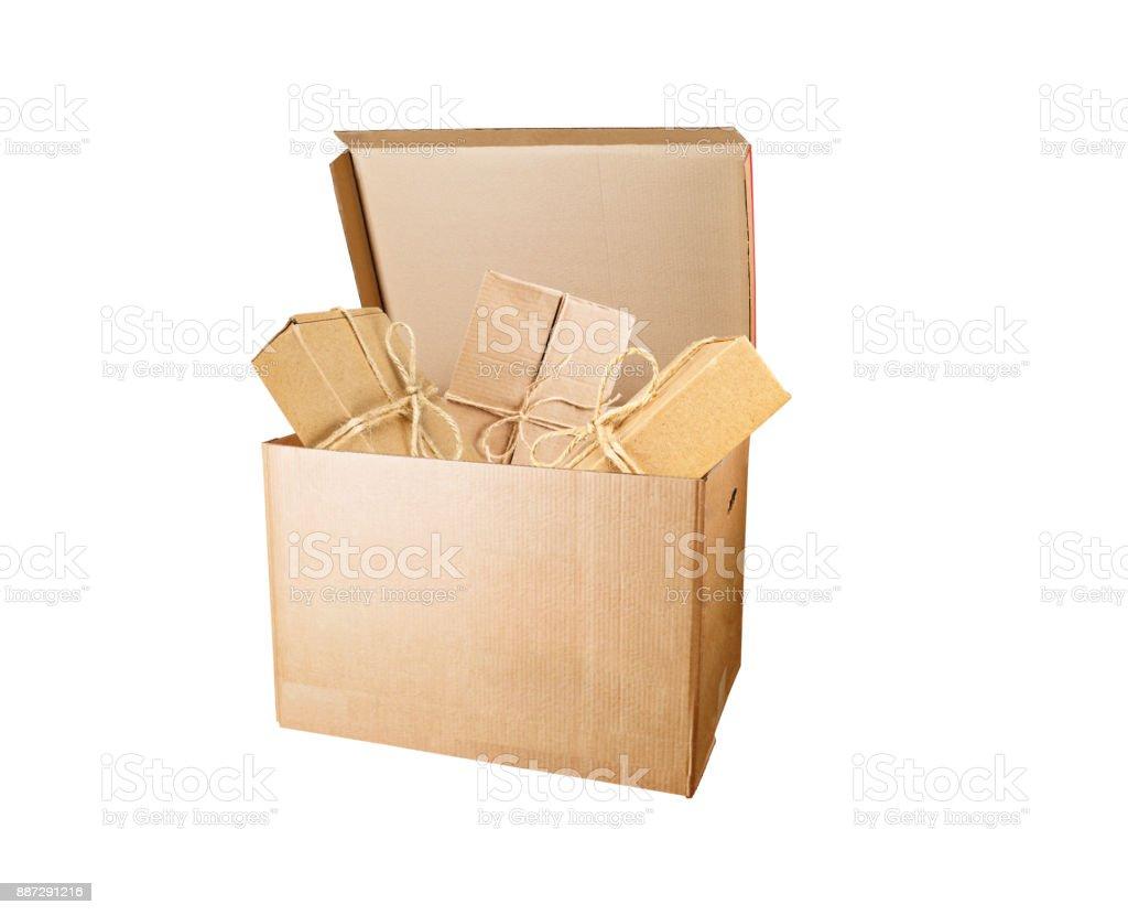 Boxes big box stock photo