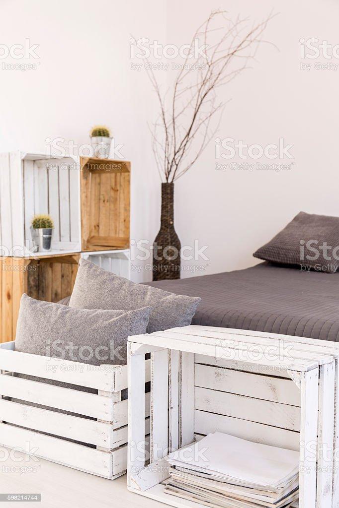 Diy Boxes Furniture Idea Stockfoto Und Mehr Bilder Von Behaglich