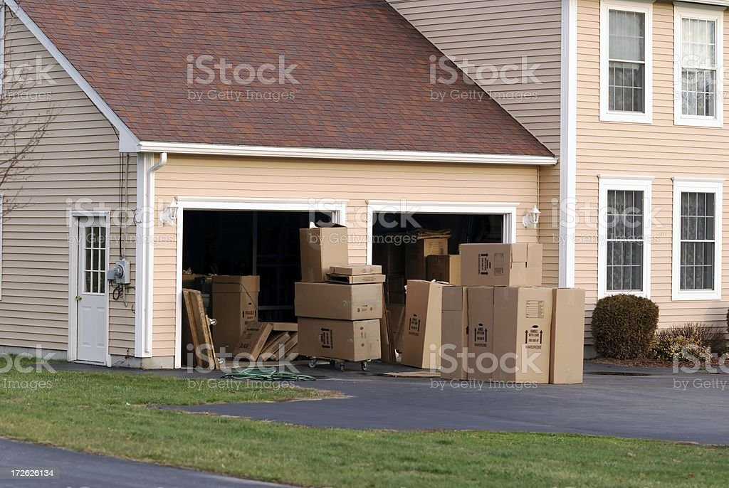 boxes royalty-free stock photo