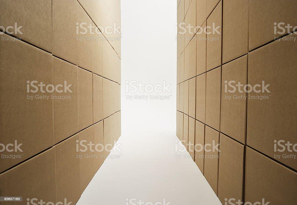 Boxes foto stock royalty-free