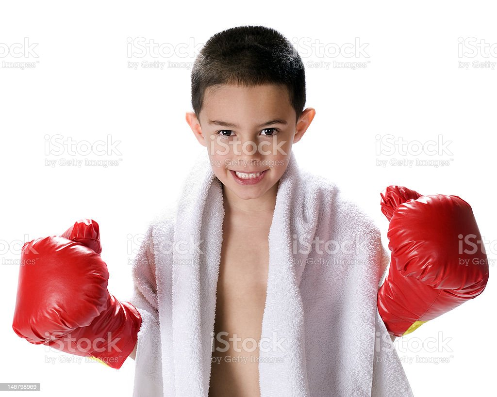 Boxing, Anyone? stock photo