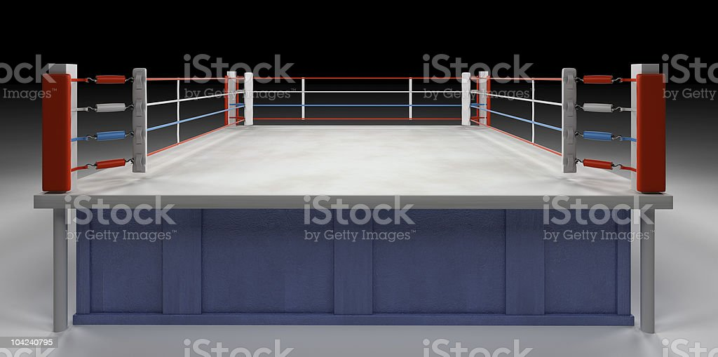 Boxing Arena royalty-free stock photo