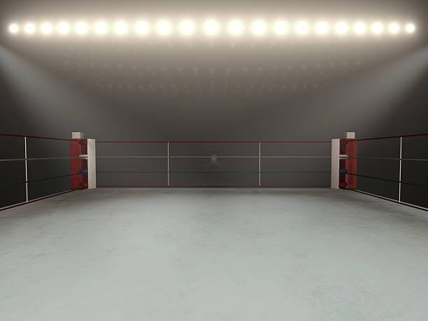 Boxing arena - foto de stock