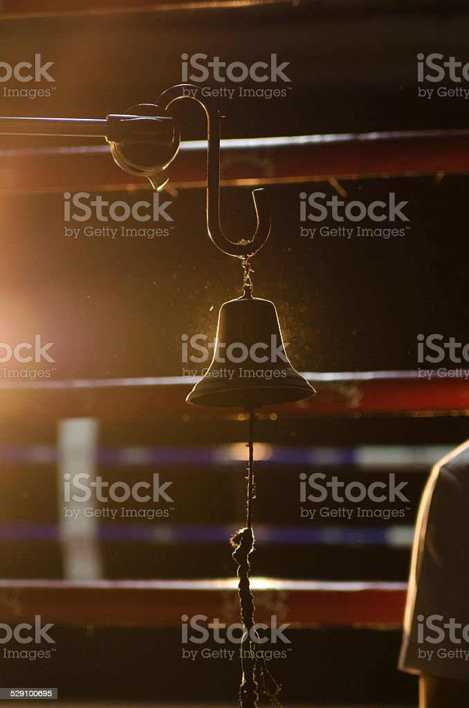 Boxing Bell stock photo