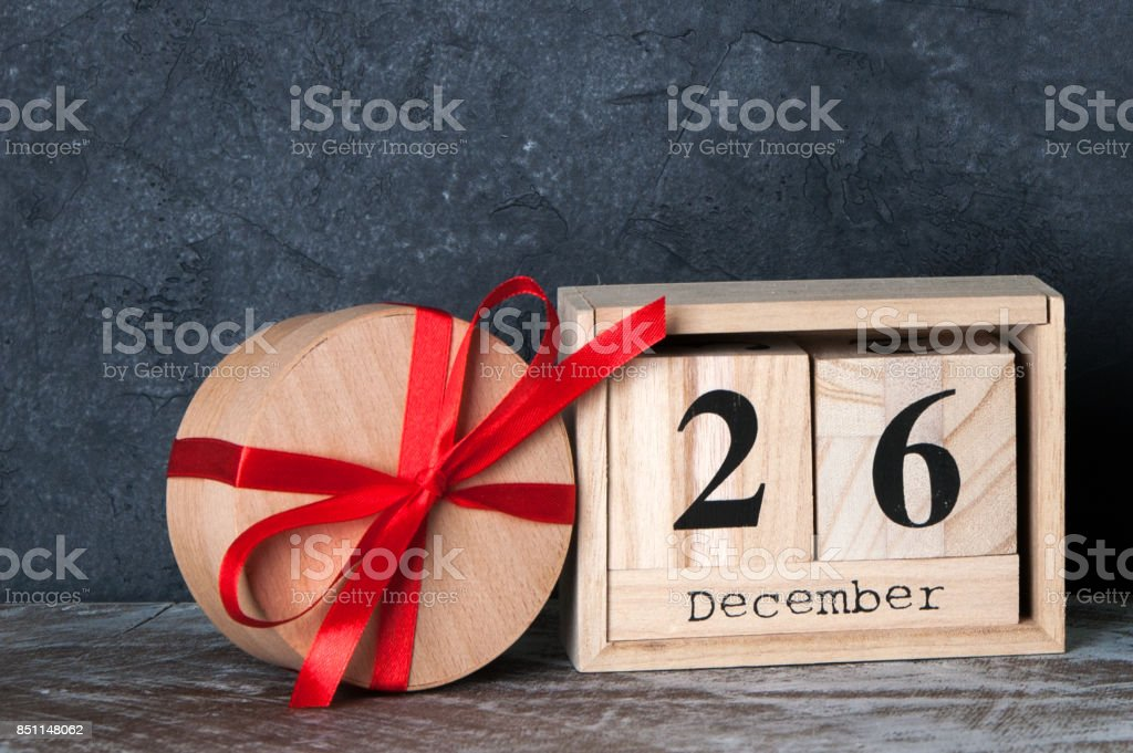 Boxing day sale stock photo