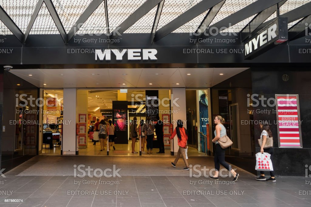 Boxing Day Sales, Myer, Melbourne