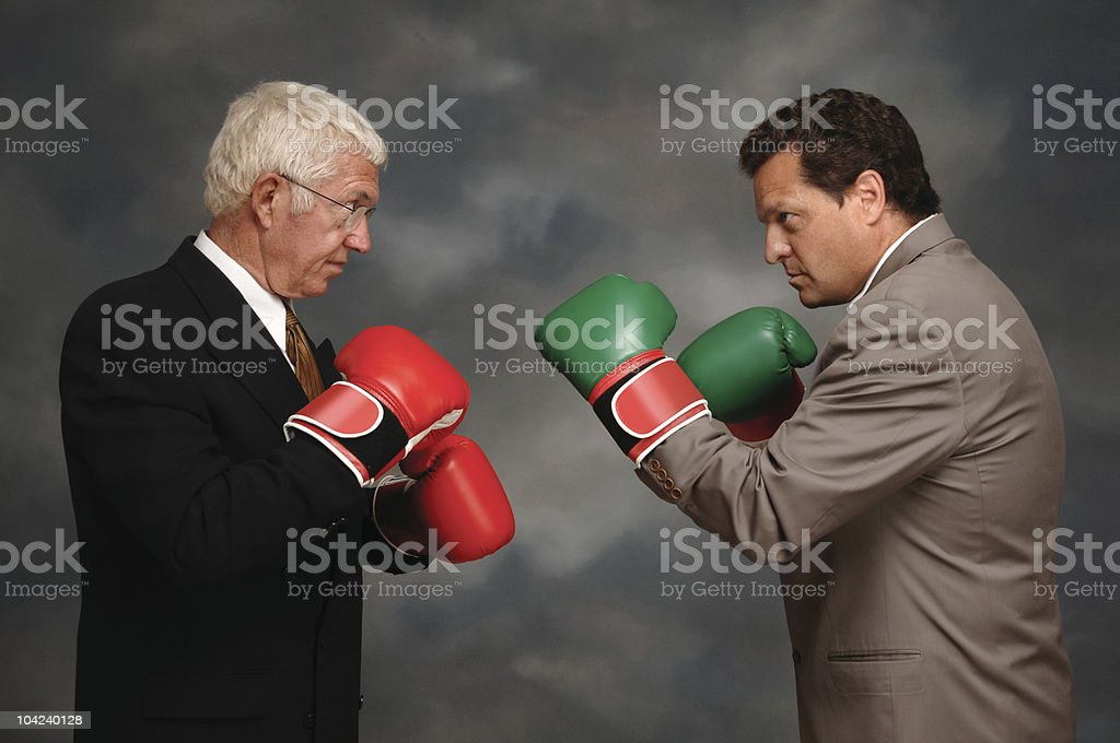 Boxing Executives stock photo