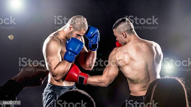 Boxing Fight Stock Photo - Download Image Now