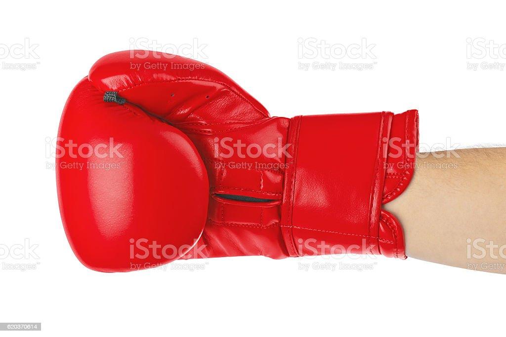 Luva de Boxe foto de stock royalty-free
