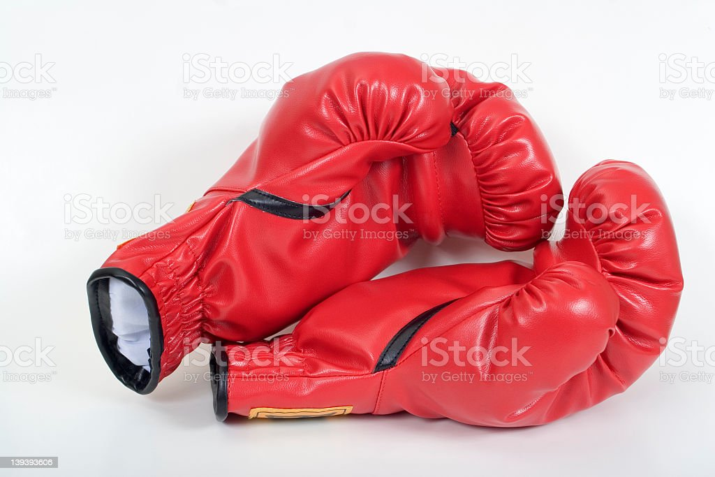 Boxing Gloves 2 royalty-free stock photo