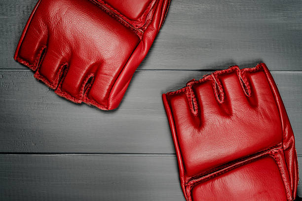 boxing gloves for training - sports glove stock photos and pictures
