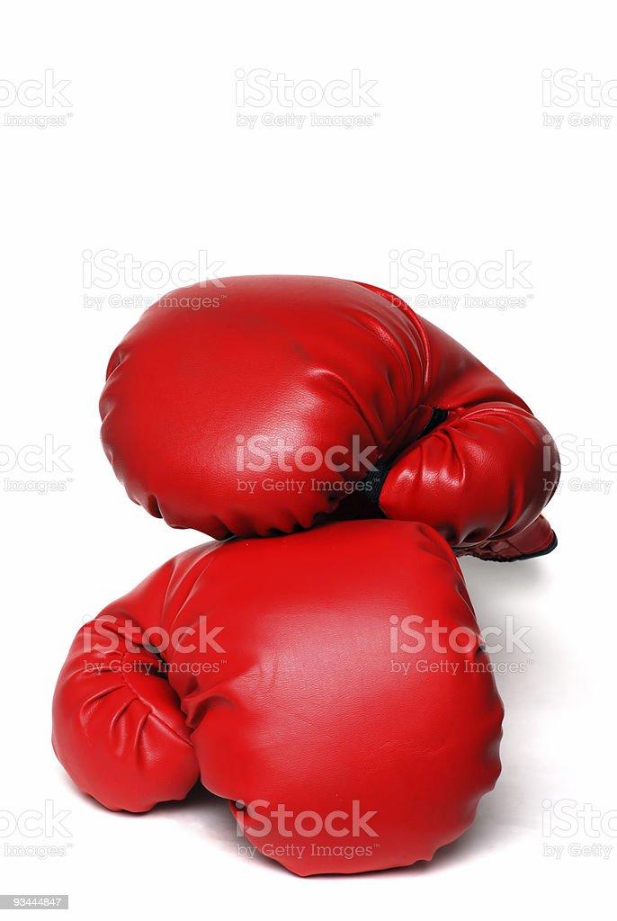 boxing Handschuhe Isoliert Lizenzfreies stock-foto