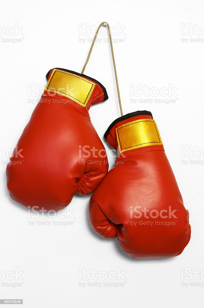 Boxing Gloves #2 royalty-free stock photo