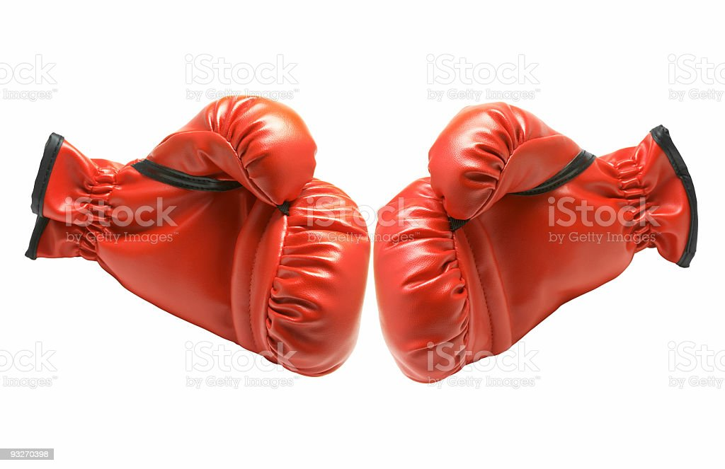 Boxing Gloves #3 royalty-free stock photo