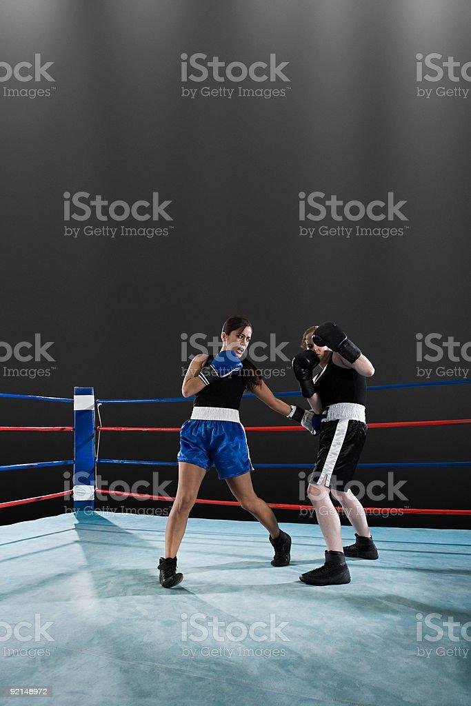 De boxe - foto de acervo
