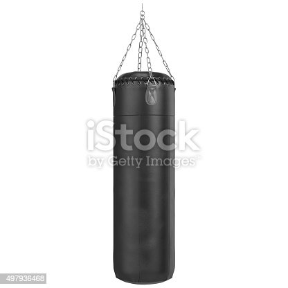 istock Boxing pear with chrome chains 497936468