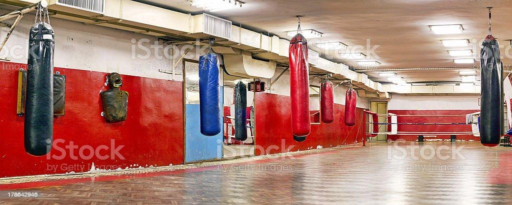 Boxing stock photo