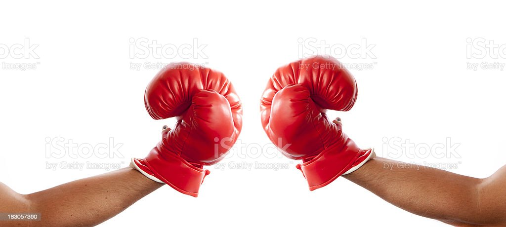 Boxing royalty-free stock photo