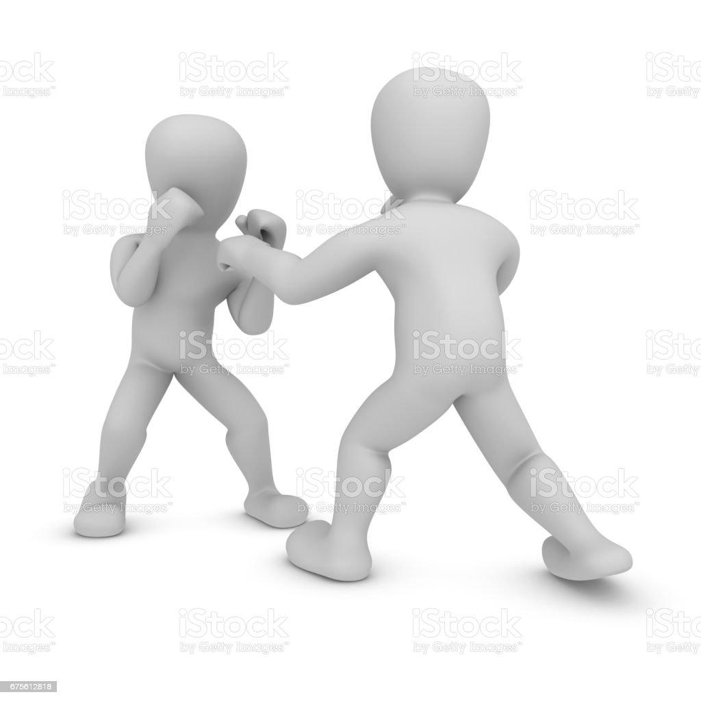 boxing foto de stock royalty-free